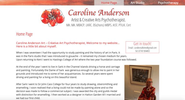 Caroline Anderson Art - Newenden, Kent