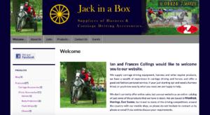 Jack in a Box SOSWEB Portfolio Image.
