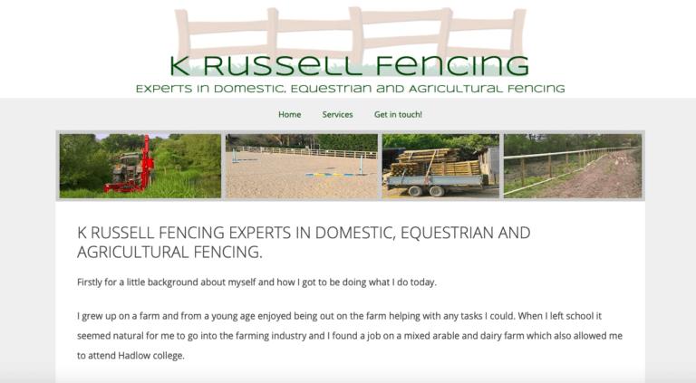 Kevin Russel Fencing - Benenden, Kent