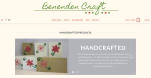 Benenden Craft SOSWEB Portfolio Image.