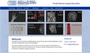 K S Radiology SOSWEB Portfolio Image.
