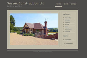 Sussex Construction SOSWEB Portfolio Image.