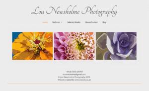 lou Newsholme SOSWEB Portfolio Image.