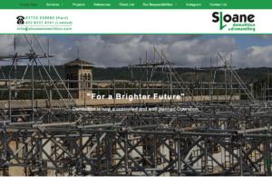 Sloane Demolition & Dismantling SOSWEB Portfolio Image.