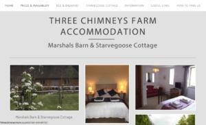 Three Chimneys Farm Accommodation