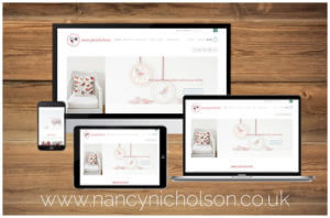 Nancy Nicholson Website Portfolio Image