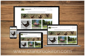 Cranbrook Iron Website Portfolio Image